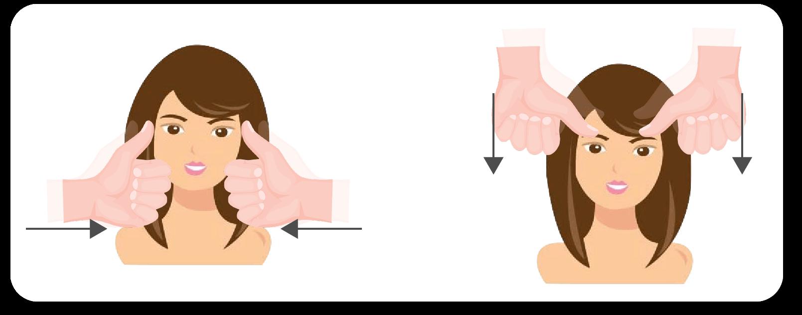 人の手感覚の揉み